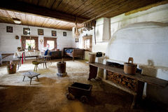 Old rustic room Royalty Free Stock Image