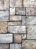 Old rustic stone wall texture Royalty Free Stock Photo