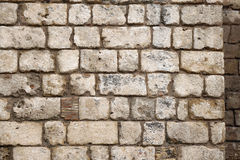 Old rustic stone wall Stock Image