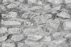 Old rustic stone wall texture and pattern Royalty Free Stock Image