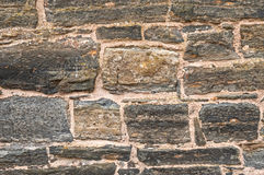 Old Rustic Stonewall Background Royalty Free Stock Photo