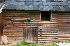 Old rustic timbered barn Stock Photos