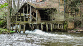 Old rustic water mill Stock Photos