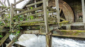 Old rustic water mill Stock Image