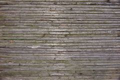 Old Rustic Weathered Fence From Natural Unpainted Dry Wood Surfa Stock Image
