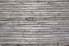 Old Rustic Weathered Fence From Natural Unpainted Dry Wood Surfa Royalty Free Stock Images