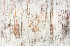 Old rustic white wooden box part. Texture background Stock Photos