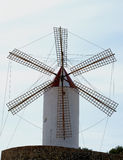 Old Rustic Windmill Royalty Free Stock Photography