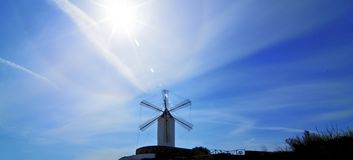 Old Rustic Windmill Stock Photography