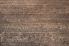 Old rustic wooden background, brown wood texture. Horizontal Royalty Free Stock Photos