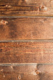 Old rustic wooden background, brown wood texture vertical Stock Images