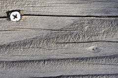 Old Rustic Wooden Background Stock Photography