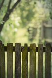 Old Rustic Wooden Fence Stock Images
