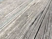 Old rustic wooden grey boards with checks Royalty Free Stock Photo