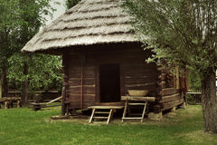 An old rustic wooden house Royalty Free Stock Photo