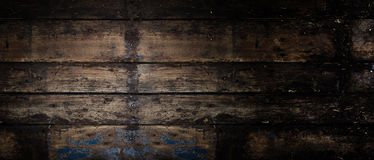 Old rustic wooden panoramic banner background Stock Photos