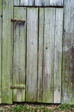 Old Rustic Wooden Side Barn Door Stock Photos