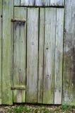 Old Rustic Wooden Side Barn Door stock photos