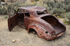 Old Rusting Car Body Royalty Free Stock Photo