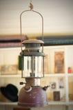 Old rusting kerosene lamp Stock Photography
