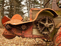 Old rusting plow, close-up Stock Photography