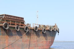 Old Rusting ship Royalty Free Stock Images