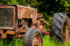 Old rusting tractor Royalty Free Stock Photos