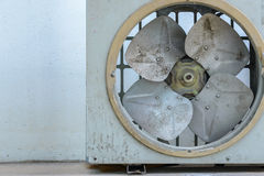 Old rusty air conditioner. wall background Stock Photography