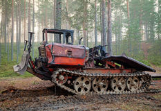 Old rusty all-terrain vehicle Royalty Free Stock Photography