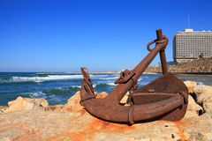 Old Rusty Anchor Royalty Free Stock Photography