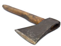 Old rusty axe Royalty Free Stock Images