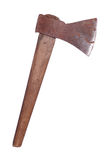 Old rusty axe Stock Image
