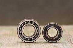 Old and rusty ball bearing. Macro detail of rusty ball bearing Royalty Free Stock Images