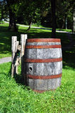 Old rusty barrel Royalty Free Stock Image