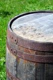 Old rusty barrel Royalty Free Stock Photo