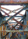 Old Rusty Beams and Girders Stock Photos