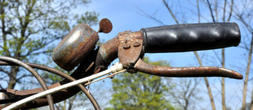 Old Rusty Bicycle Bell Royalty Free Stock Photos