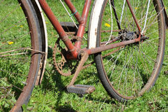 Old Rusty Bicycle Royalty Free Stock Photo