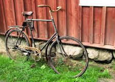Old rusty bike Royalty Free Stock Photography