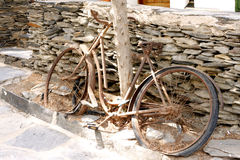 Old rusty bike Royalty Free Stock Photos