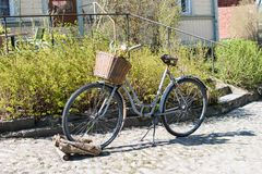 Old rusty bike. royalty free stock images