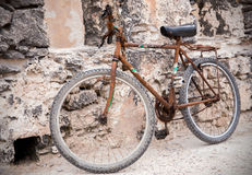 Old rusty bike Stock Photos