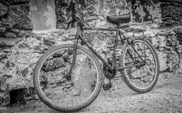 Old rusty bike Royalty Free Stock Photo