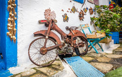 Old rusty bike Royalty Free Stock Image