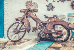 Old rusty bike Royalty Free Stock Images