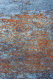 Old rusty black metallic background. Royalty Free Stock Photo