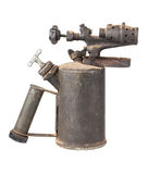 Old rusty blowtorch Stock Photos