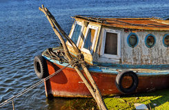 Old rusty boat Royalty Free Stock Photo