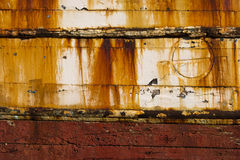 Old rusty boat texture Stock Photography