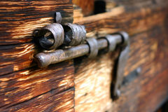 Old rusty bolt Royalty Free Stock Photo